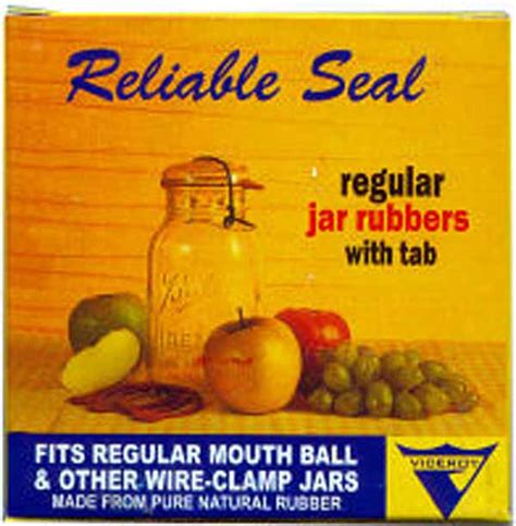Rubber Canning Rings - Regular Viceroy Jar Rubbers