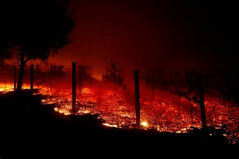 (Updated) Nine killed, 35 missing in California wildfire