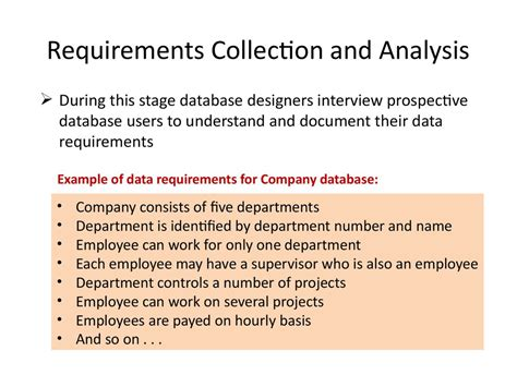 Analysis and Design of Data Systems