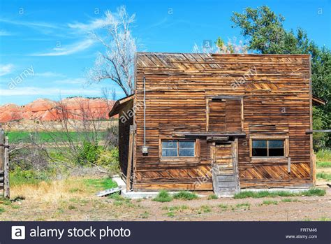 Old West Homestead Stock Photos & Old West Homestead Stock