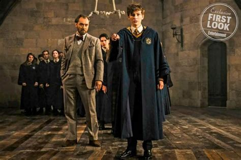 Fantastic Beasts 2: First Look At Young Newt Scamander