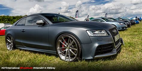 Audi S5 on 21″ HRE P104 at GTI International 2014 done at