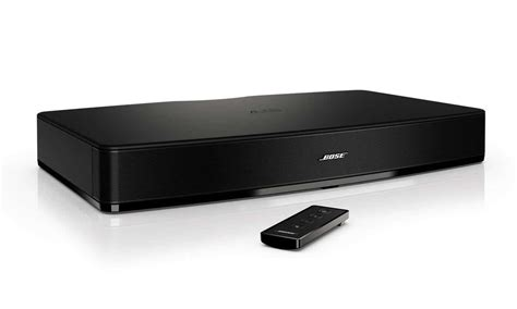 Your TV is About to Get an Audio Boost with the Bose Solo