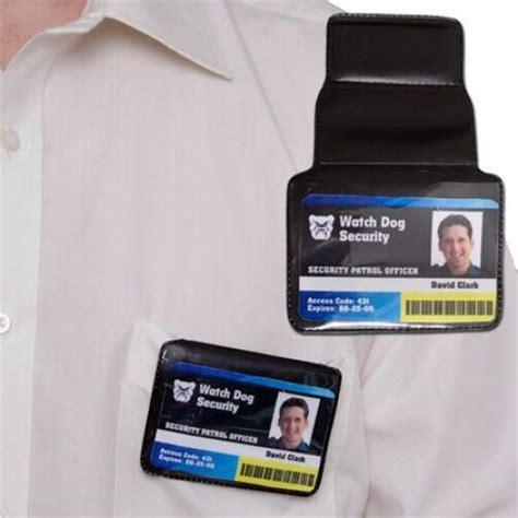PWC5 Magnetic Warrant Card - ID Holder Police Security | eBay