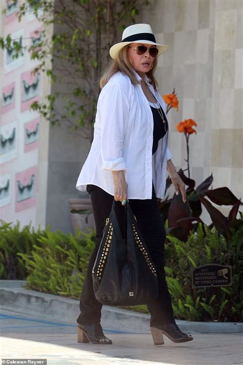 Raquel Welch, 78, looks gorgeous as she steps out in Los