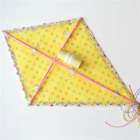 How to Make a Kite Out of Paper   Martha Stewart