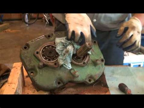 Part 8 - Remove PTO Oil Seal Housing and Bearing Cover