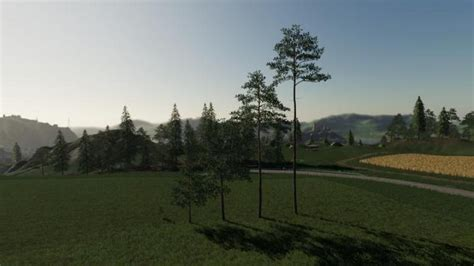 FS19 - Pleacable Trees Pack V2 - Simulator Games Mods