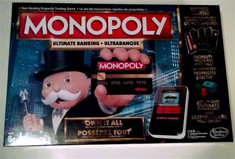 MONOPOLY Ultimate Banking Game - Tales of a Ranting Ginger