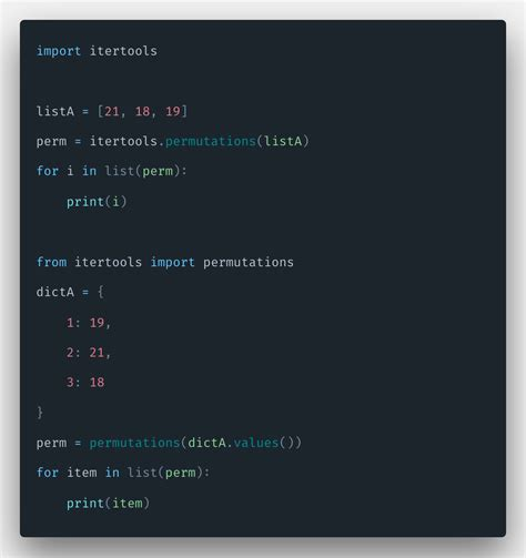 How To Calculate Permutations in Python | Python Permutations