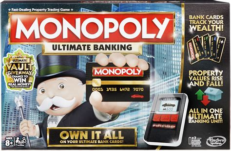 Monopoly Ultimate Banking - Board Game Review   Partyrama Blog