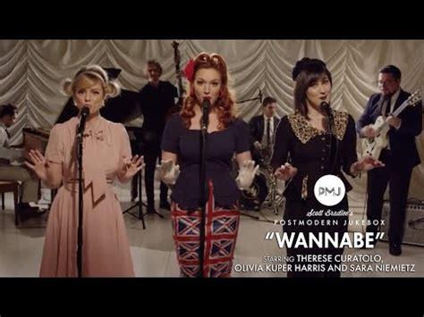 """Wannabe - Spice Girls (Vintage """"Andrews Sisters"""" Style"""