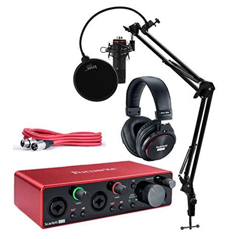 Compare Price: scarlet condenser microphone - on