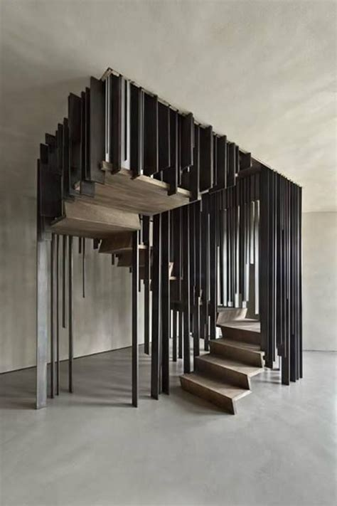 Optical Illusion Staircases : disappearing stairs