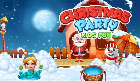 Christmas Party Kids Fun Android Education App Source Code