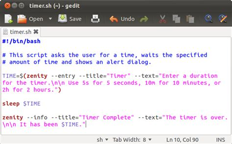 How to Make Simple Graphical Shell Scripts with Zenity on