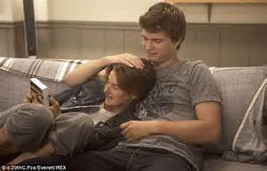 Ansel Elgort asked to be Theo James' sub during intimate