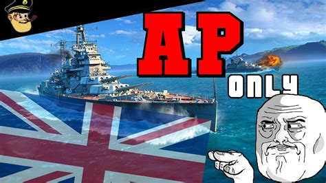HMS Monarch AP only! World of Warships