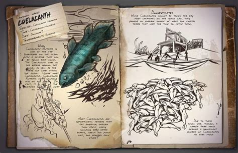 List of the fish - ARK: Survival Evolved