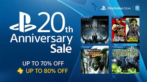 PlayStation Store Anniversary Sale Offers Big Discounts on