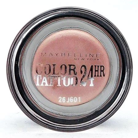 Maybelline Color Tattoo Eyeshadow - The Best Tattoo