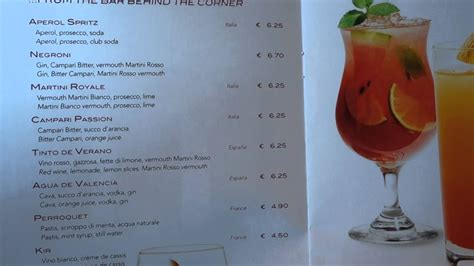 MSC Preziosa Drinks Menu Prices and Packages - YouTube
