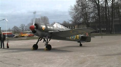 FFVS J22 used in the Swedish Airforce 1943-1952 - YouTube