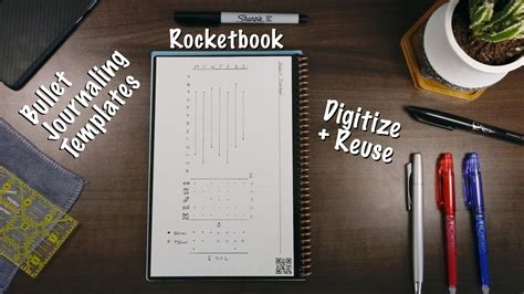 How I Bullet Journal in My Rocketbook: Weekly Templates