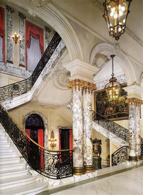 The Elms mansion Entrance Hall & Staircase in Newport
