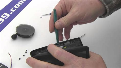 How to Replace Your TomTom Via 135 Battery - YouTube