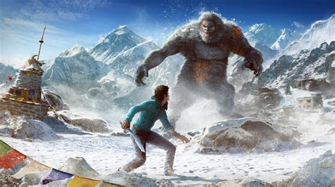 Far Cry 4 Valley of the Yetis Wallpapers   HD Wallpapers