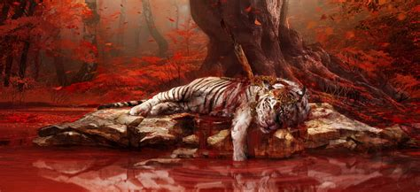white Tigers, Far Cry 4 Wallpapers HD / Desktop and Mobile