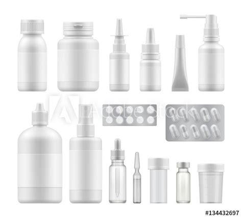 """""""3d blank pharmaceutical medical packaging: container for"""