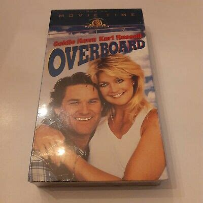 Overboard VHS 1987 Goldie Hawn Kurt Russell New