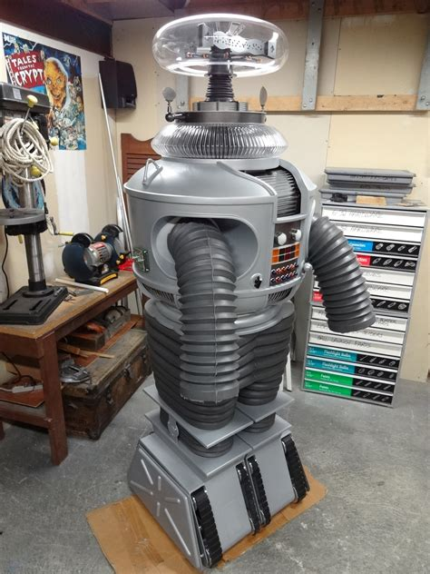 EZ Robot Controlled Lost in Space B9 Robot (with Pictures