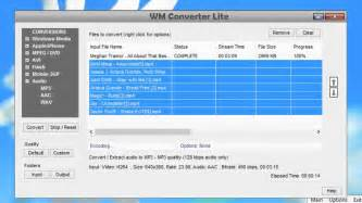 Converting Video with WM Recorder 15 - YouTube