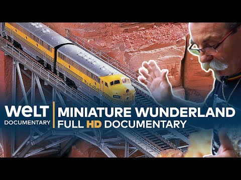 Little USA trains and cars, in HO scale,