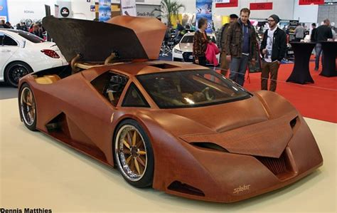 The wooden supercar | The Splinter at the Essen Motor Show